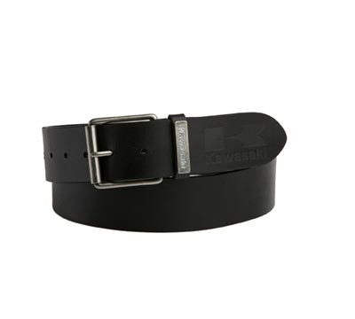 Kawasaki Leather Belt