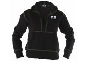 Women's Deep Vee Hooded Pullover Sweatshirt