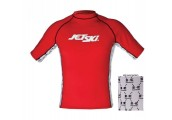 Jet Ski Liquid Short Sleeve Rash Guard
