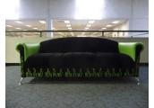 Green Flame Sofa
